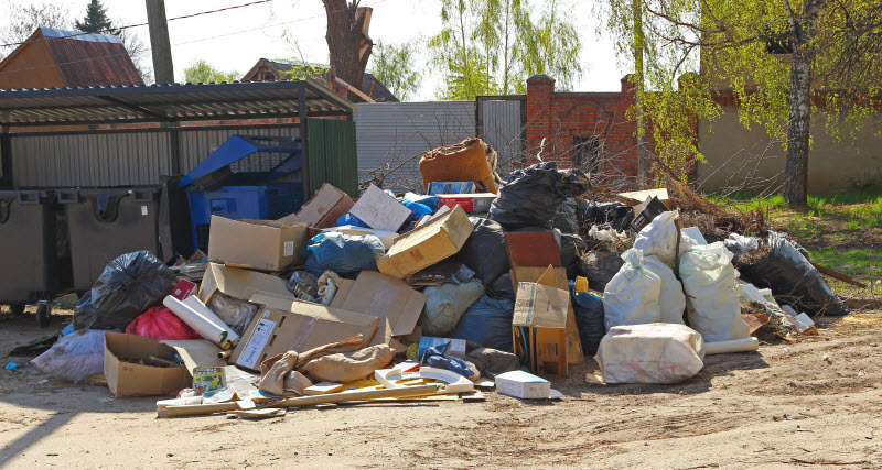 Rubbish Removal Service in Penrith in North Lanarkshire
