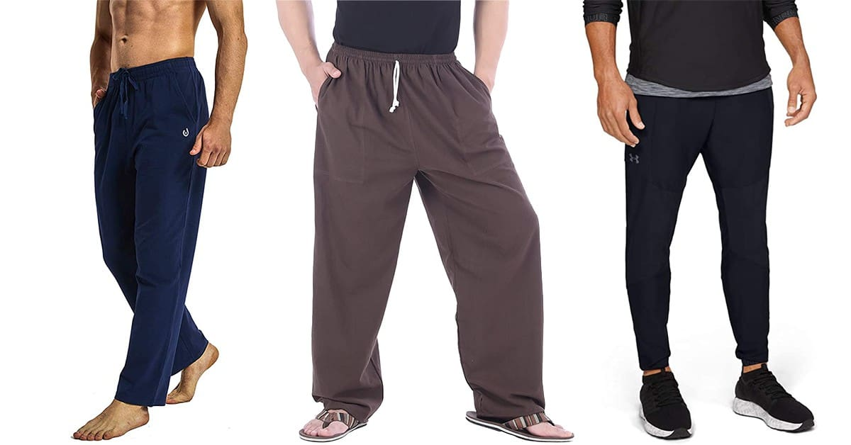 Mens Yoga Clothing in Cotton